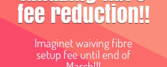 Imaginet is offering a reduction on fibre